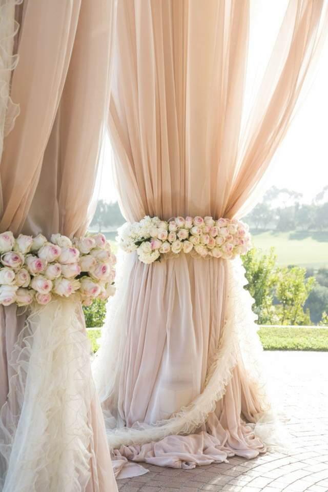 estilo bohemio boda decoración entera decoración