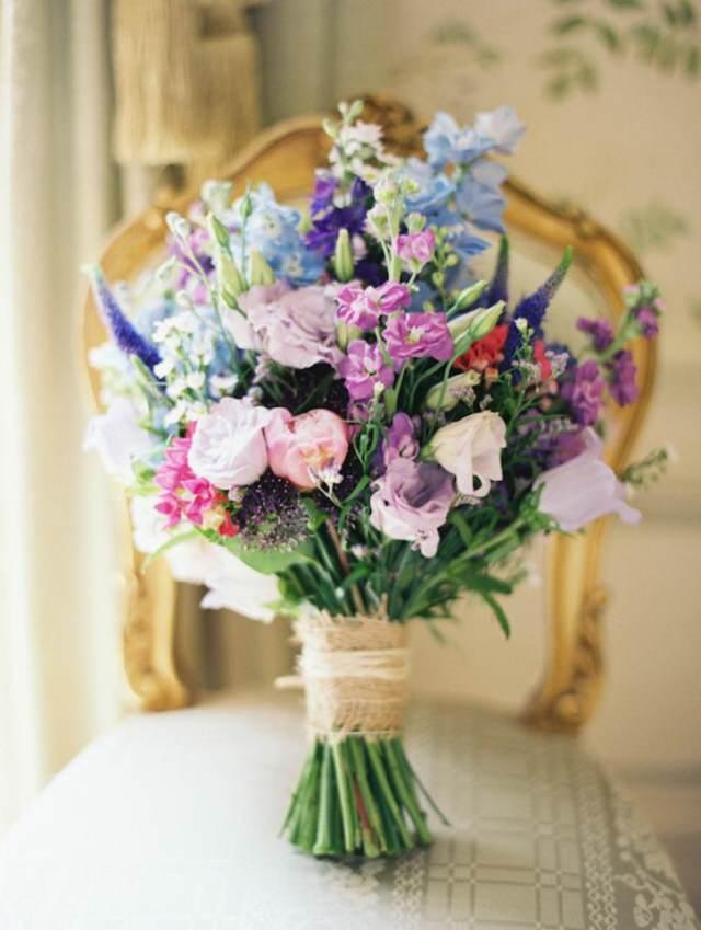 ramo de flores estilo boho chic ideas maravillosas eventos temáticos