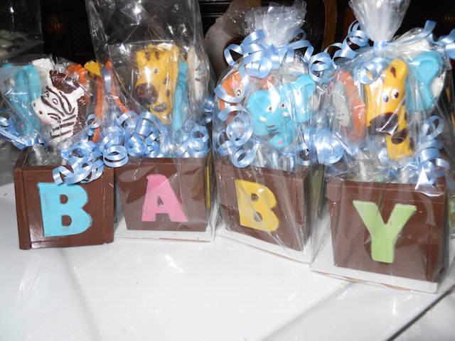 fantásticos recuerdos para baby shower animales