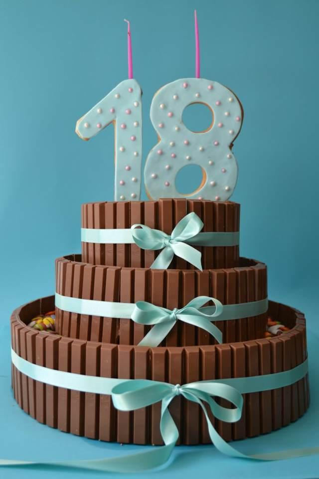 pastel feliz cumpleños 18 ideas temáticas