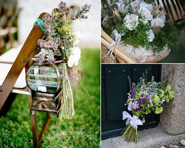 arreglos florales estilo boho ideas eventos