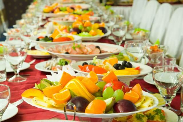 frutas decoración menú boda ideas originales