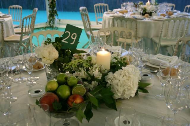 ideas boda arreglos frutas preciosas