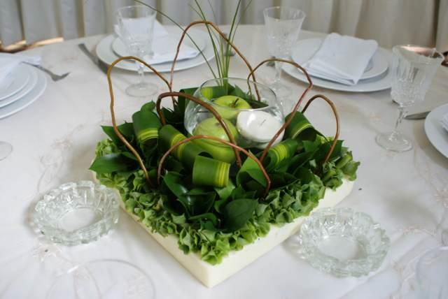 ideas originales decoración boda frutas
