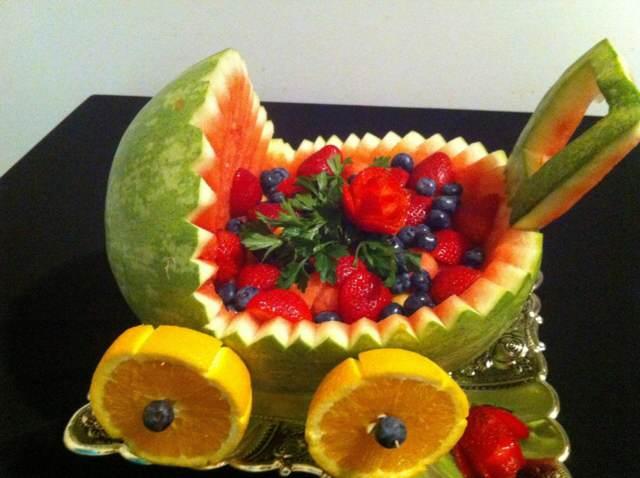 ideas fantásticas decoración fiestas infantiles arreglos frutas