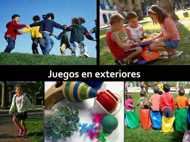 juegos infantiles aire libre ideas fiestas divertidas