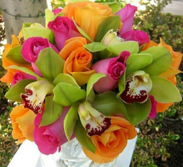 preciosos ramos de flores ideas con rosas eventos temáticos