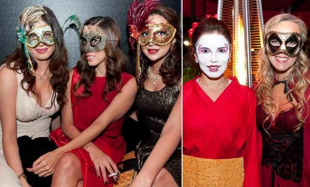 fiesta máscaras originales ideas temática feliz cumpleaños