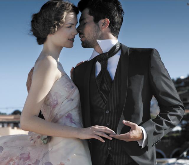 trajes de novio modernos colores ideas boda 2015