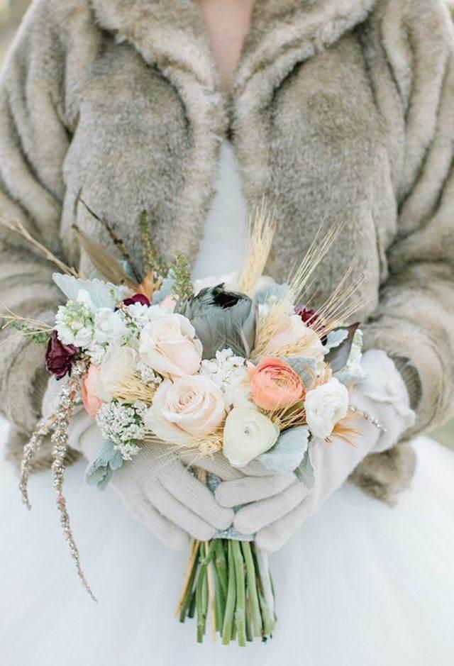 ramo de flores boda preciosa estilo boho