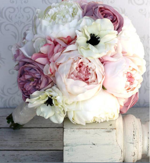 ramo de flores boda idea magnífica decoración