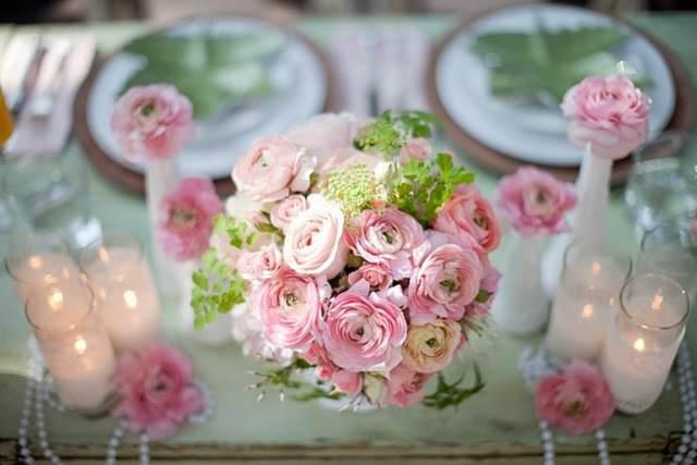 ramo de flores magnífico estilo boho ideas decoración temática