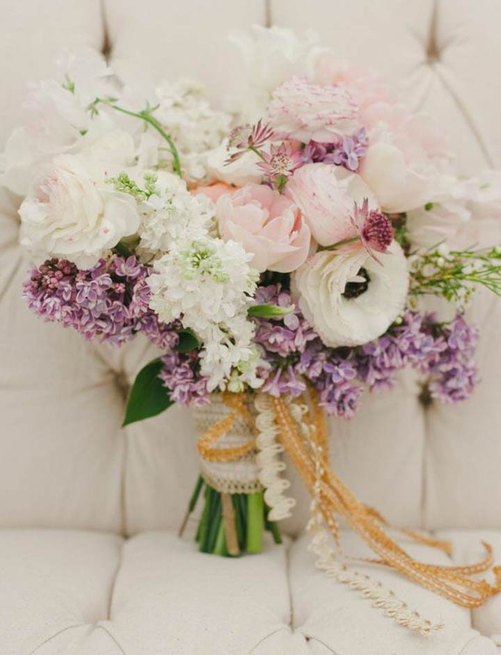 ramo de flores estilo bohemio ideas magníficas eventos todo tipo