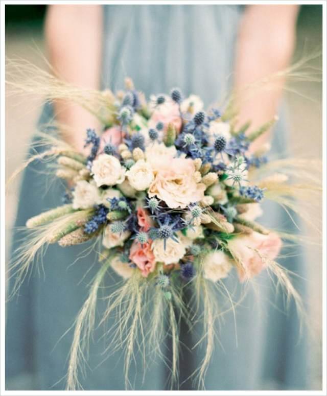 ramo de flores preciosos estilo boho ideas