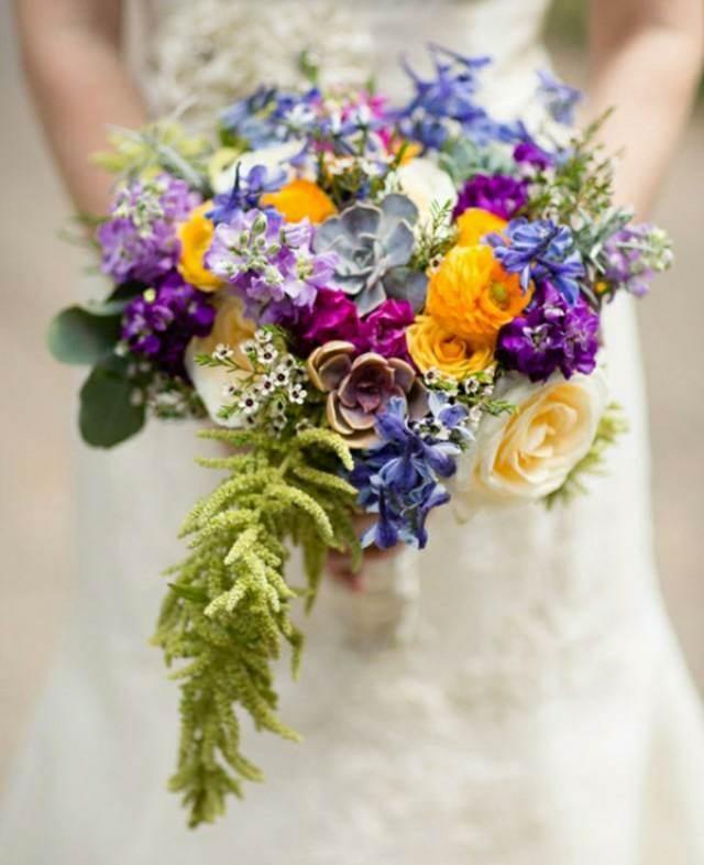 ramo de flores maravilloso ideas preciosas 2015