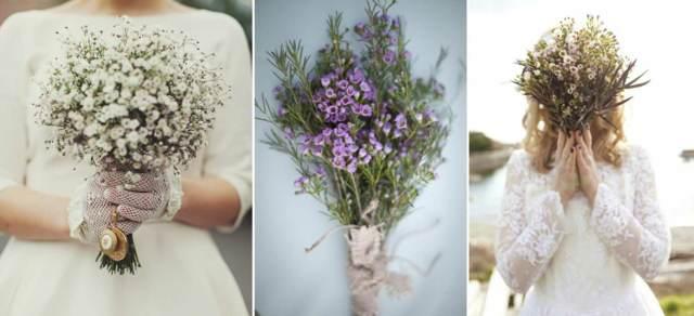 ramos novia ideas maravillosas estilo bohemio