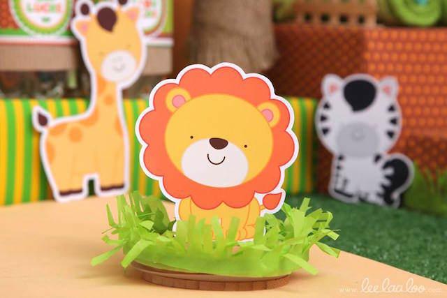 recuerdos para baby shower con animales dulces