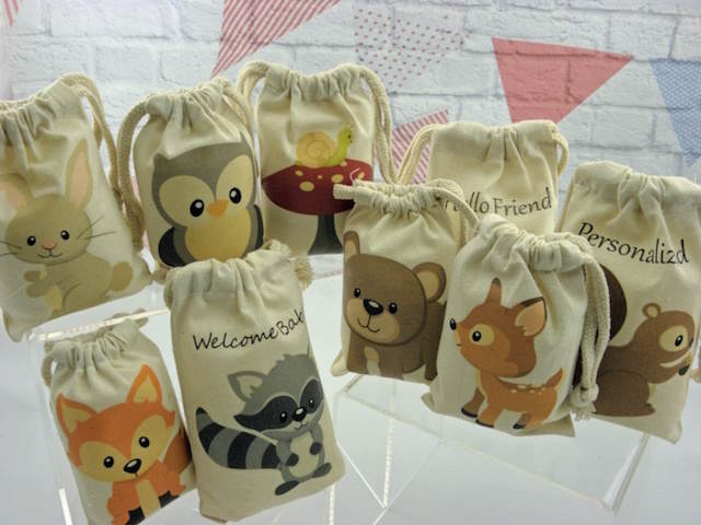 recuerdos para baby shower tema animales bosque
