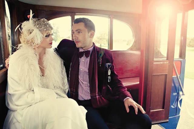 tema vintage moda 2015 trajes magníficos
