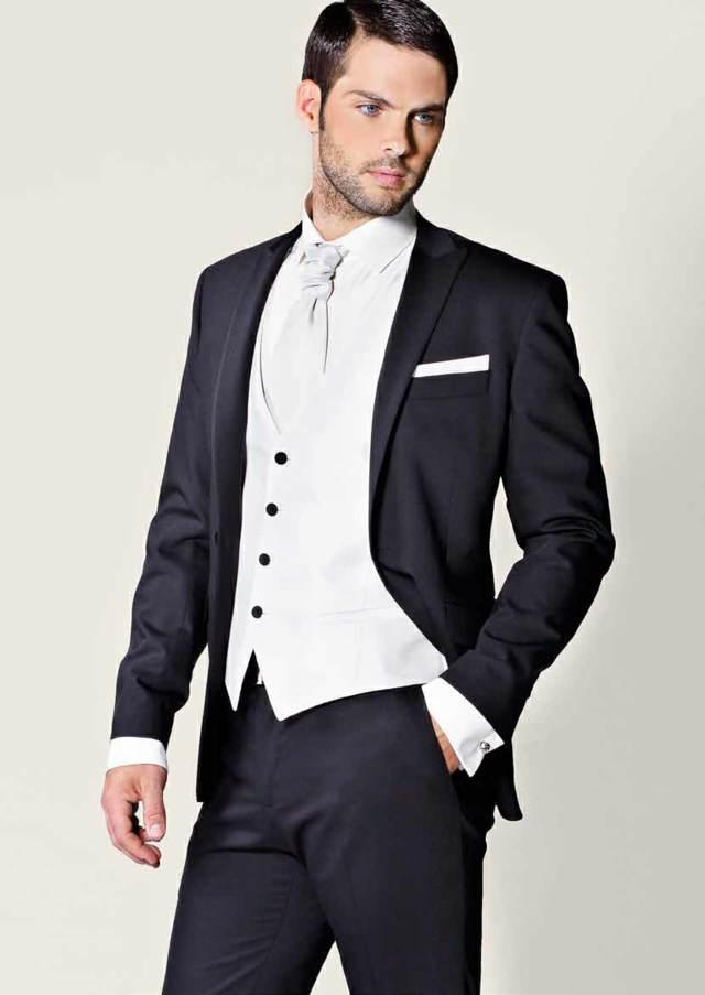 trajes de novio colores modernos ideas tendencias 2015