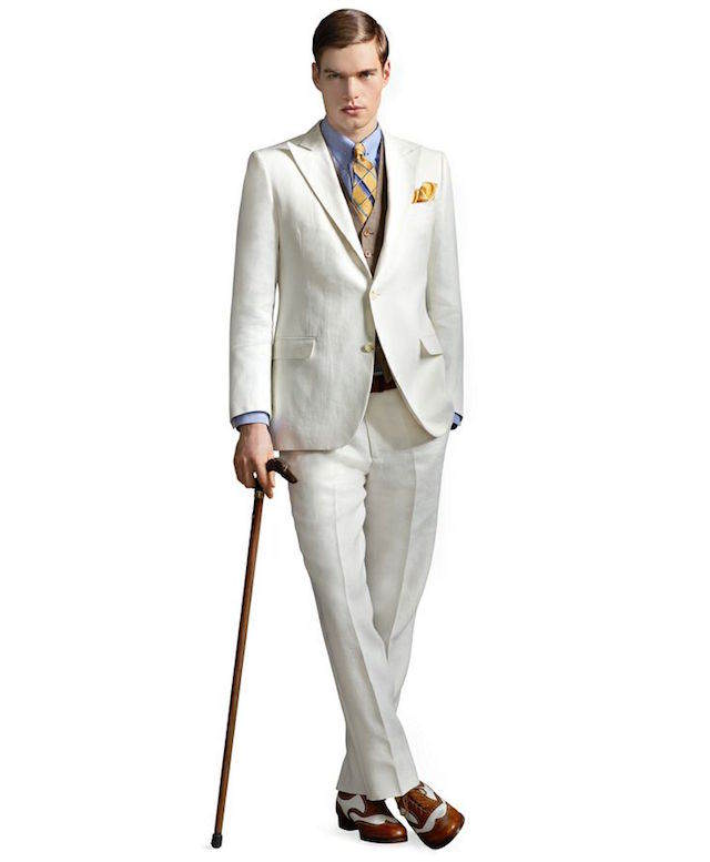 trajes de novio vintage 2015 tendencias modernas