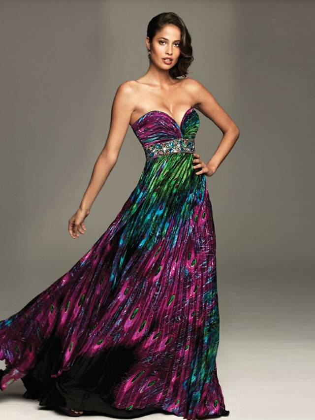 vestidos de noche largos colores diferentes noviazgo ideas preciosas