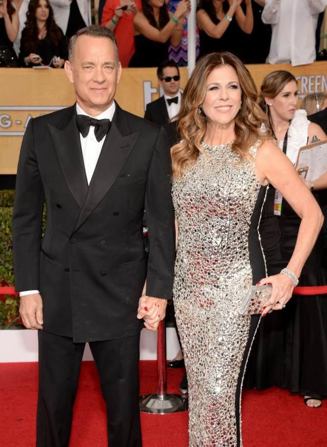Tom Hanks Rita Wilson bodas de plata personas famosas