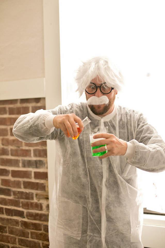 animador tema ciencia decoracion de fiestas infantiles ropa