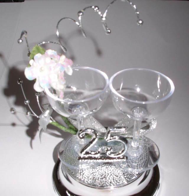 bodas de plata celebración temática 25