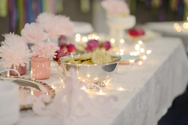 bodas de plata decoración elegante vintage
