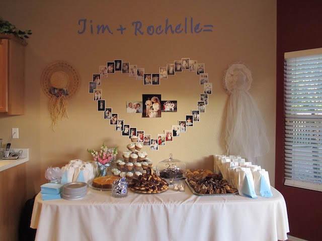 Decoraci nes para aniversario de bodas imagui for Decoracion de pared para novios