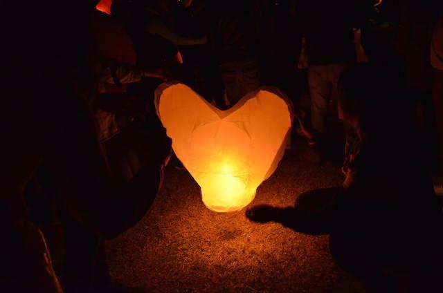 celebración fiesta noviazgo globos de cantoya fantásticos