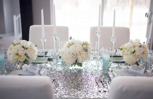color temático decoración vintage bodas de plata