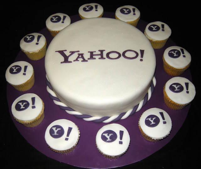 combinación decoración de pasteles cupcakes corporativos