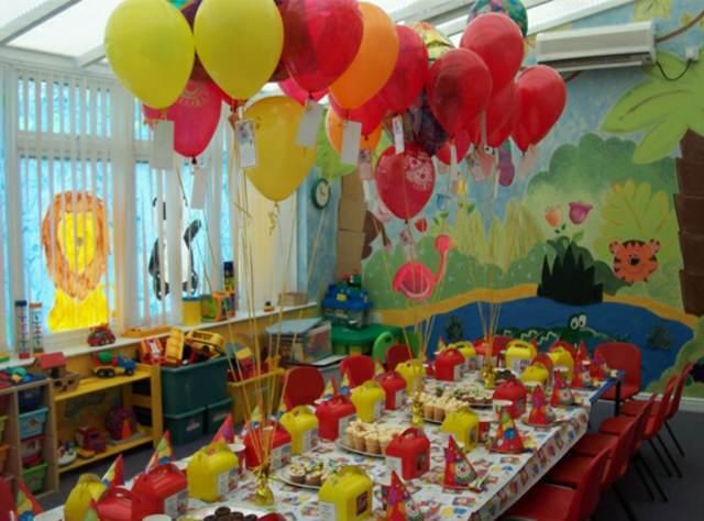 cumpleaños infantiles decoración temática ideas globos