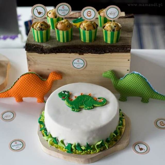 decoraciones de fiestas infantiles ideas interesantes tema dinosaurio