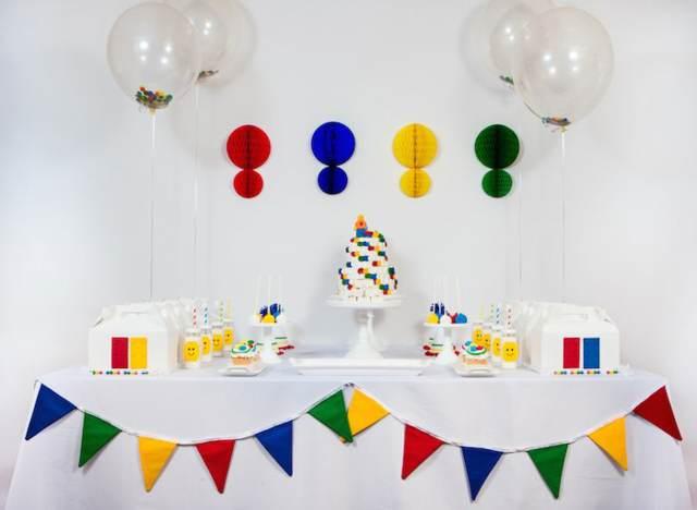 decoración de fiestas infantiles ideas preciosas tema lego