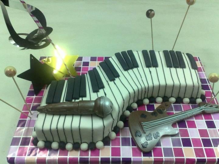 decoración de pasteles fiestas temáticas celebridades ideas