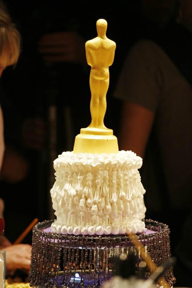 decoración de pasteles eventos temáticos celebridades oscares