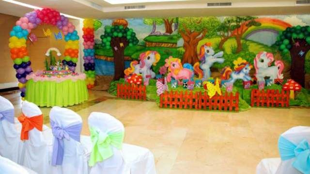 decoración temática fiesta infantil ideas originales