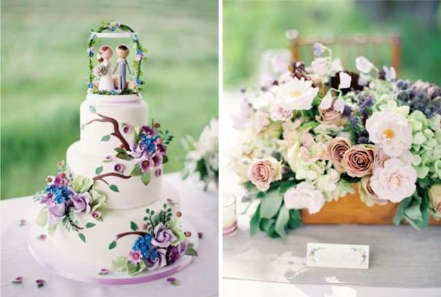 decoración fantástica pastel temático fiesta inolvidable