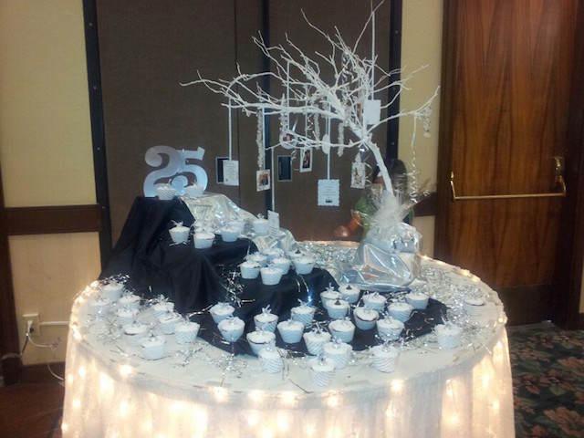 decoración bodas de plata ideas fantásticas