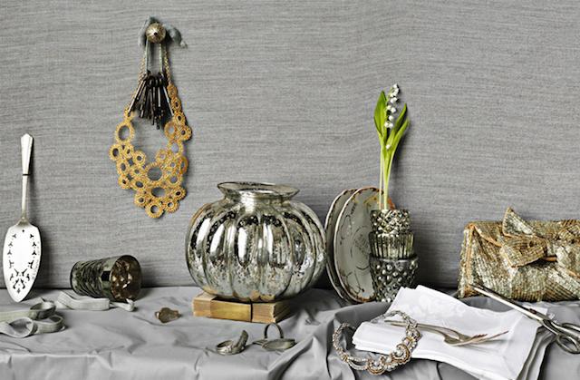 decoracion tematica preciosa color bodas de plata