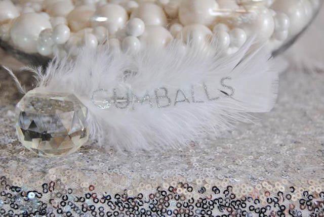 decoración temática blanco ideas para baby shower