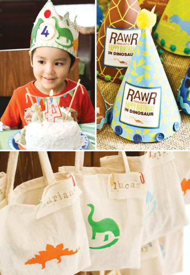 dinosaurio fiesta infantil cumpleaños divertidos ideas