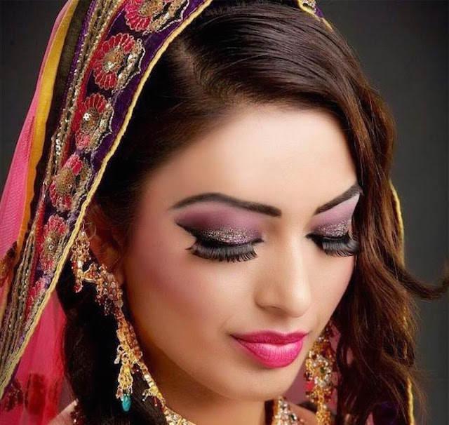 estilo indio 2015 maquillaje de novia lindo