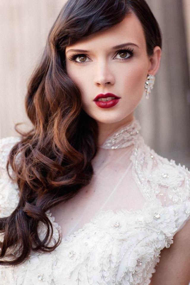 precioso look maquillaje de novia