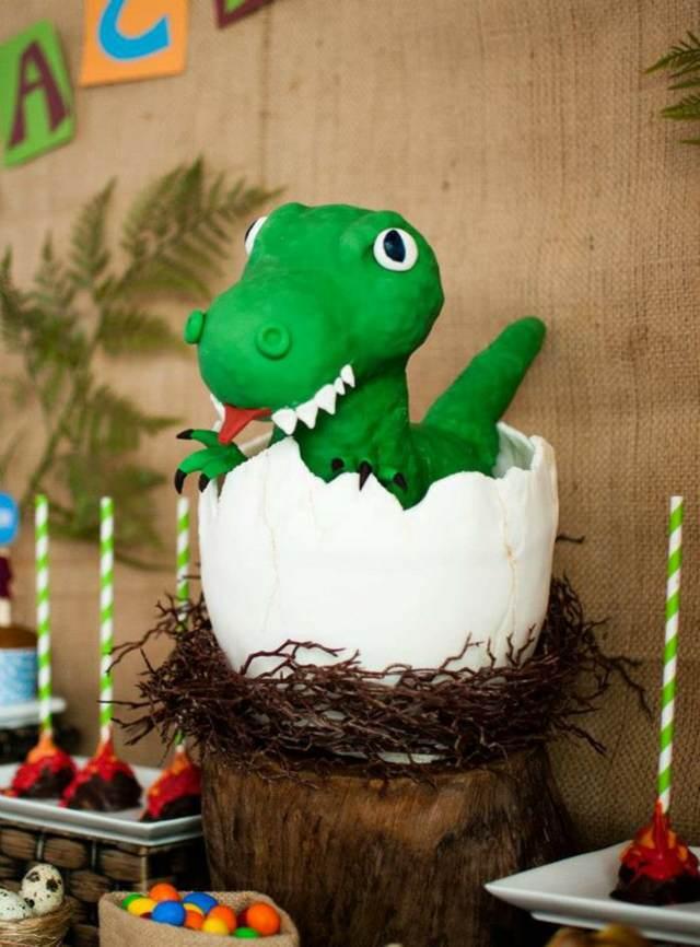 decoración de fiestas infantiles tema dinosaurio ideas fantásticas