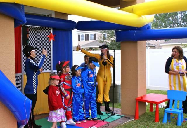 fiestas infantiles divertidas juegos originales decoración tema lego