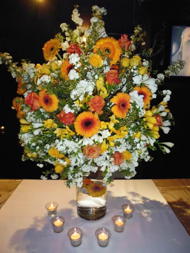 flores bonitas arreglos preciosos fiestas temáticas